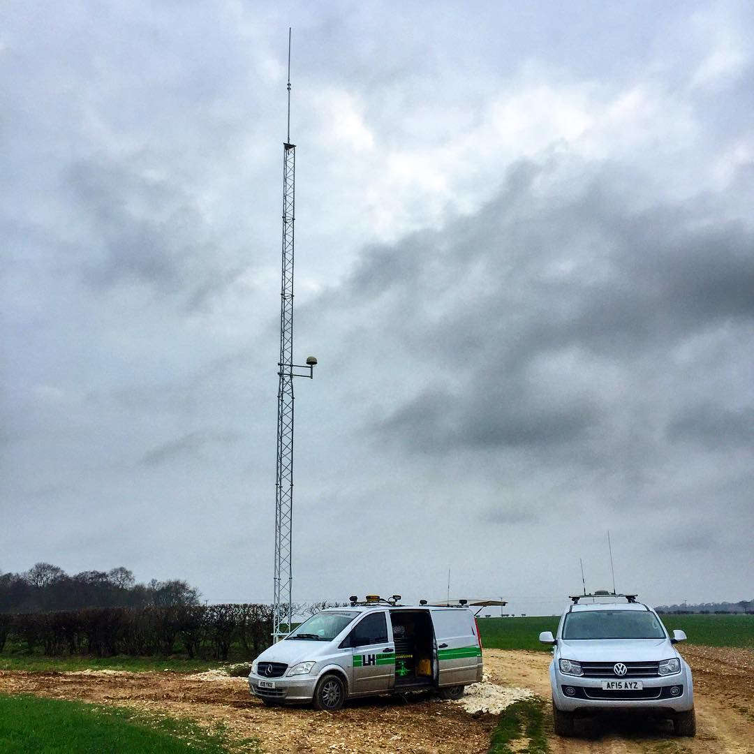 RTK radio base